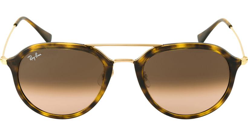 7adf0aaba ... f0e7e10b732fd oculos de sol ray ban rb4253 tartaruga 3102851 ...