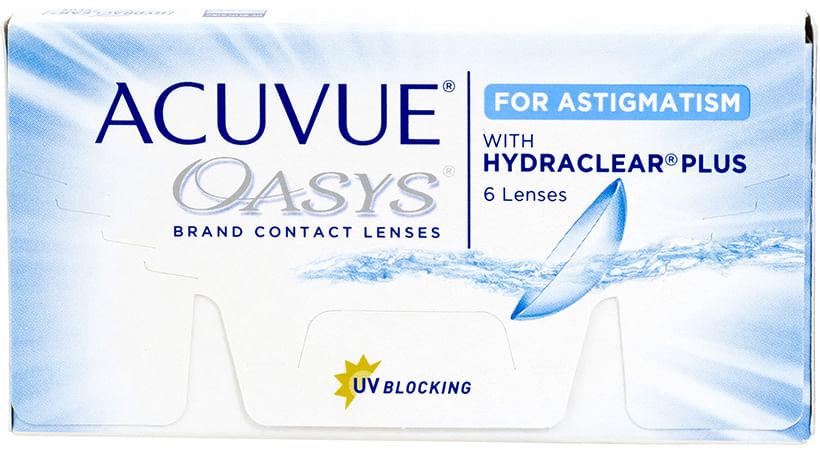 6cad2c3cb710e Acuvue Oasys para Astigmatismo
