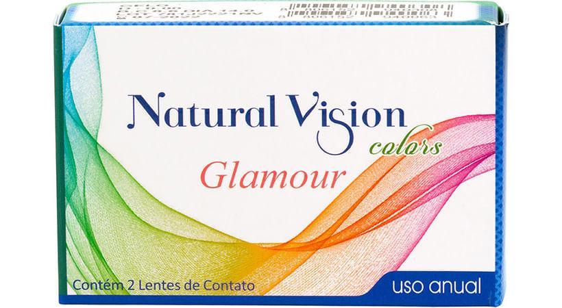 fba64a8c5 Glamouranual Glamouranual Natural Vision Glamour Anual Sem Grau Lente de  Contato ...