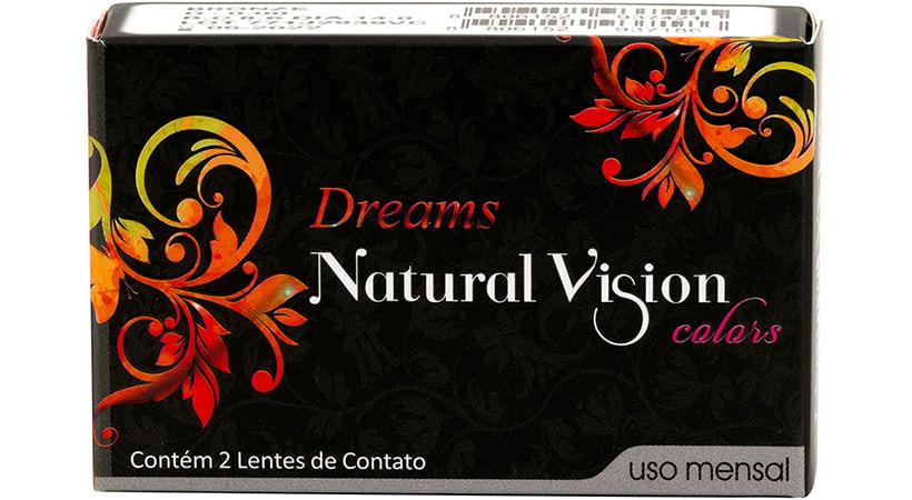 40ea1449f Dreamsmensal Dreamsmensal Natural Vision Dreams Mensal Sem Grau Lente de  Contato ...